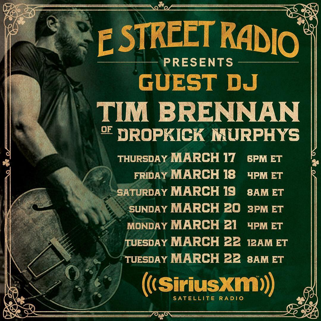 Tim on E Street Radio