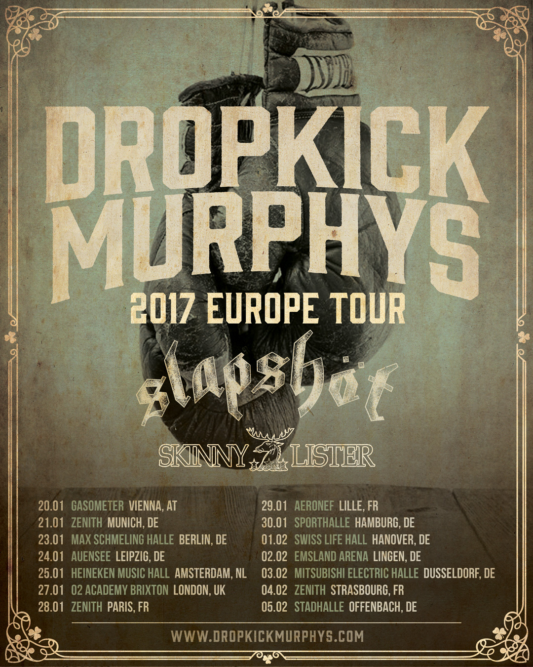 dropkickmurphys-Europe-tour